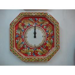 Orologio ottagonale 32x32cm