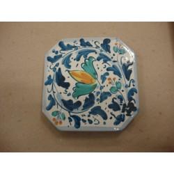 Poggiapentola 12x12 (bomboniera per matrimonio)ceramica di Caltagirone