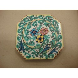 Poggiapentola 12x12 (bpmboniera matrimonio)ceramica di Caltagirone