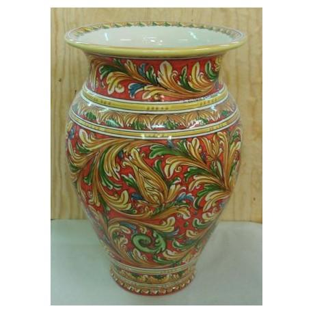 Portaombrelli ceramiche di caltagirone - Portaombrelli in ceramica bianca ...
