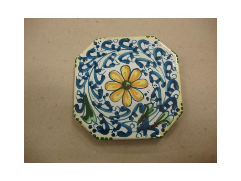 Bomboniere Matrimonio Ceramica Caltagirone.Poggiapentola Bomboniera In Ceramica Di Caltagirone Fatto A Mano