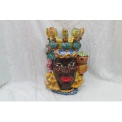 Testa di moro donna(corona fico d'india)