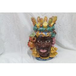 Testa di moro uomo(corona fico d'india)