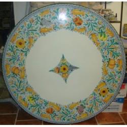Tavolo in pietra lavica d.135cm